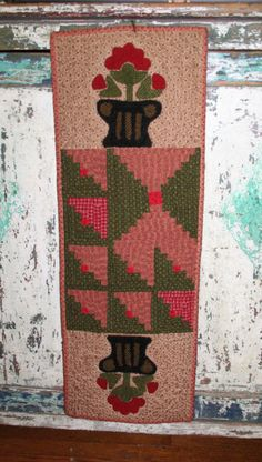 quilts made from Cheri Saffioti patterns   10 1/2 X 30