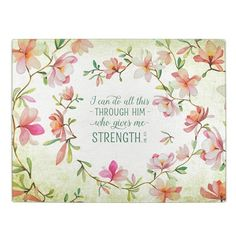 Christian Art Gifts Cutting Board Gld I Can Do All Things Phil 13 (Other), Multicolor Christian Art Gifts, Christian Quotes, Christian Women, Tattoos For Women On Thigh, Give Me Strength, Bible Verses Quotes, Scriptures, Oui Oui, Sentimental Gifts