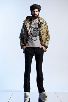 Jean Paul Gaultier's spring / summer 2013 collection has been previewed   http://mssikhret.com/ has each of the key looks for you.