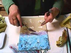 Эксперименты с красками от Ольги Ромейко - YouTube