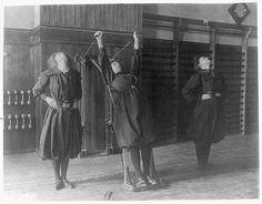 Женская гимнастика 19-20 век