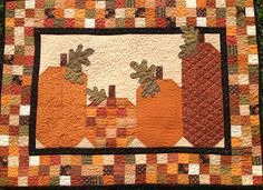 AUTUMN HARVEST finished wallhanging by myreddoordesigns on Etsy
