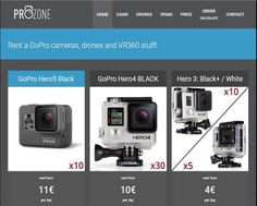 http://www.prozonerent.com | GoPro Rental House - PROZONE is a biggest GoPro rental in Poland, maybe in Europe.We provide services to individual customers, companies and to all who need rent gopro cameras. We offer many GoPro cameras, drones, 360 cameras.