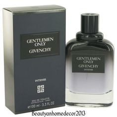 Gentlemen Only Intense by Givenchy 3.3 oz EDT Cologne Spray for Men New in Box #Givenchy
