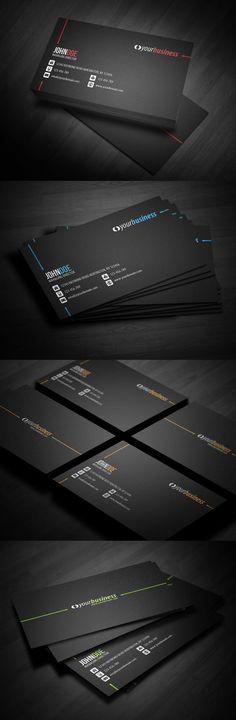 25 Creative Corporate themed Business Card Design examples. Follow us www.pinterest.com/webneel