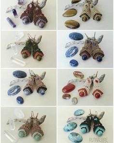 Pendientes... Elige tu color favorito #estilorutinalibre #hechoamano #hechoconamor #macrame #hilos #piedrasemipreciosas #hippie #etnico #regalos #diferente #rutinalibrestyle #handmade #stonejewelry #stonejewelry #ethnic #presents #diferent