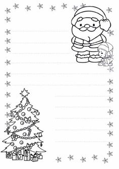 Staying in Touch with Santa ( 7 free download coloring pages/letters for Santa) Disney Coloring Pages, Christmas Coloring Pages, Coloring Books, Christmas Activities, Christmas Printables, Christmas Colors, Kids Christmas, Theme Noel, Christmas Drawing