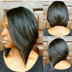 32 Layered Bob Hairstyles : Add These Hot Layers to Your Haircut Now - Style My Hairs Short Hair Cuts, Short Hair Styles, Bob Styles, My Hairstyle, Hair Affair, Relaxed Hair, Love Hair, Hair Dos, Weave Hairstyles