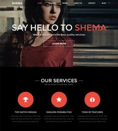 This dark Joomla theme has Revolution Slider, K2 support, a responsive layout, a one page design, unlimited colors, a Bootstrap framework, Font Awesome icons, more than 30 shortcodes, and more.