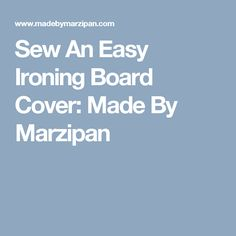 Sew A Poppy Nursing Pillow Slip Cover: Made By Marzipan Pillow Slip Covers, Ironing Board Covers, Shopping Cart Cover, Iron Board, Nursing Pillow, Marzipan, Learn To Sew, Slipcovers, Diy And Crafts