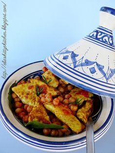 Italian recipes... Tajine di pollo piccante