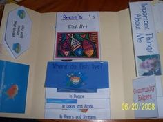 Fish Out of Water lapbook at homeschoolshare.com
