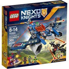 Lego Nexo Knights Aaron Fox's Aero-Striker V2, 70320, Multicolor