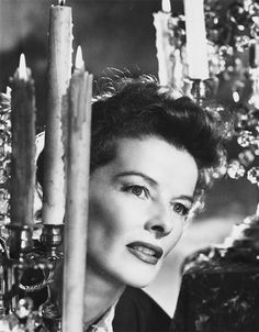Katharine Hepburn photographed by Agnus McBean