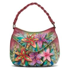 Anuschka 513 Shoulder Bag,Luscious Lilies,One Size Anuschka http://smile.amazon.com/dp/B00BLOZHXO/ref=cm_sw_r_pi_dp_50VQvb12VQ858