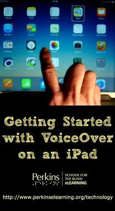 Tips to get started with VoiceOver on an iPad