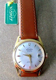 KISMET Automatic ETA 2452  41 jewels - Swiss Made men's wristwatch – NOS – from 60s by VintWatch on Etsy