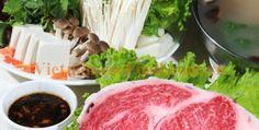 Vietnamese Beef Hotpot Street Food (Lẩu Bò)