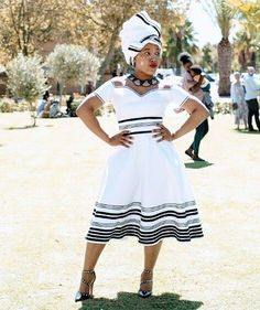 Very best modern african fashion 7831 African Wear Dresses, Latest African Fashion Dresses, African Print Fashion, African Attire, African Clothes, South African Traditional Dresses, Traditional Outfits, Xhosa Attire, African Print Dress Designs
