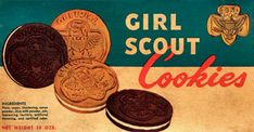 Girl Scout Cookies still love them!