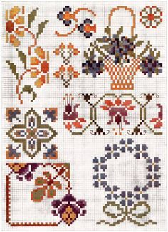 free vintage cross stitch patterns - Google Search
