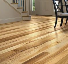 Hardwood Floors: White Mountain Hardwood Flooring   3 1/4 IN. Solid Hickory    Hickory Rustic Natural