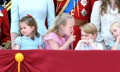 Prince George and Princess Charlotte's Cousin Savannah Phillips Was the Real Star at Trooping the Colour - Dianalegacy Latest Update News Images Videos of British Royal Family Royal Baby Boy Names, Royal Babies, Prince Harry And Meghan, Prince And Princess, Duke And Duchess, Duchess Of Cambridge, Queen Elizabeths Children, Trooping The Colour 2018, Queen's Official Birthday
