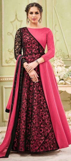 Anarkali Suits - Buy Indian Anarkali Suits with the latest designs and attractive offers online. Best collection of Partywear and festive wear Anarkali Dress for women. Indian Gowns Dresses, Indian Outfits, Girls Dresses, Flapper Dresses, Abaya Fashion, Indian Fashion, Fashion Dresses, Fashion Edgy, Work Fashion