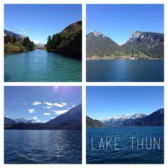 A beautiful lake outside of Adelboden, Switzerland.