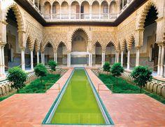 Sevilla, el invierno llega a España