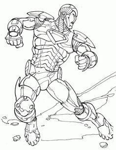 The Iron Man Dodging Attacks Coloring For Kids - Super Hero Coloring Pages : KidsDrawing – Free Coloring Pages Online Online Coloring Pages, Coloring For Kids, Printable Coloring Pages, Coloring Pages For Kids, Coloring Sheets, Coloring Books, Marvel Coloring, Superhero Kids, Page Online