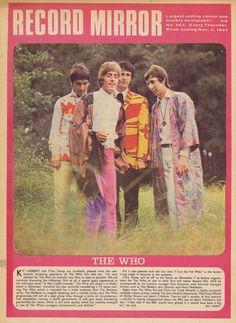 The Who  -- Nov 1967  __ via leaders of men blog