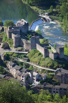 Brousse-Le-Chateau, Aveyron, Midi-Pyrenees_ France