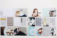 Pages by Heather Burris featuring the Midnight Edition and Seafoam Edition.