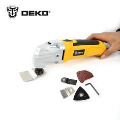 Deko 220 v 50 hz 300 wát ac điện multi-hàm công cụ dao động đa chức năng công cụ với 8 cái công cụ phụ kiện