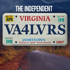 VA has the largest number of vanity plates...yes, I have one too (although this isn't mine ;)