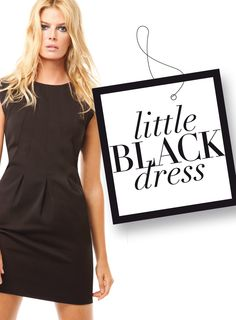 Little Black Dess. Fashion Online, Advertising, T Shirts For Women, Shopping, Collection, Black, Tops, Dresses, Vestidos