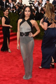 Met Gala 2015: The Best Looks From The Carpet | The Zoe Report Zoe Kravitz in Alexander Wang