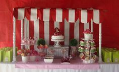 Strawberry Shortcake Party I like the tent Strawberry Shortcake Birthday, Vintage Strawberry Shortcake, Birthday Parties, Kid Parties, Birthday Ideas, Baby Girl Birthday Decorations, Party Planning, Party Time, City Party