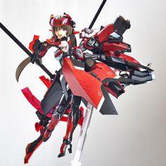 Anime Figures, Anime Characters, Frame Arms Girl, Cool Robots, Model Kits, Girls 4, Plastic Models, 3d Design, Gundam