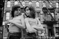 Little Italy, New York, 1976.  BySusan Meiselas