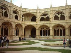Convento de los Jerónimos, Lisboa, Portugal