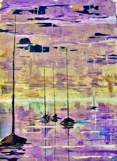 "Saatchi Online Artist Kyle Brock; Painting, ""Last One In"" #art"