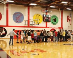 Home of the Braves - Reedsport, OR Southern Oregon Coast, Home Of The Brave, Basketball Court