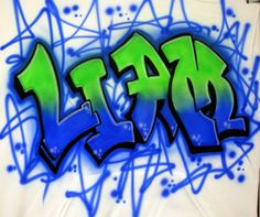 Airbrush Graffiti Name