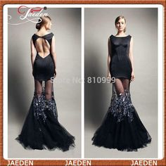 Find More Prom Dresses Information about PP613 Sexy Vestidos De Fiesta Backless Black Mermaid Prom Dress 2014 New Fashion Sheer Tulle Skirt Lady Formal Party Gown Custom,High Quality dresses for petite people,China dress mix Suppliers, Cheap dress cow from Suzhou Jaeden Garment Co., Ltd. on Aliexpress.com