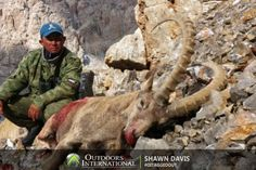 After researching Mid Asian Ibex hunting in Kyrgyzstan for almost a year, my wife Maria and I set up our hunt through Outdoors International. Big Game Hunting, Outdoor Activities, Outdoors, Asian, Animals, Animales, Animaux, Animal, Outdoor Rooms