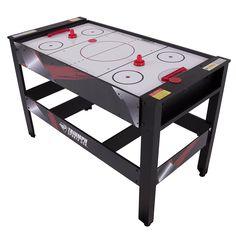 Triumph Rotating Swivel Multigame Table âu20acu201c Air Hockey, Billiards, Table  Tennis, And Launch Football, Multicolor