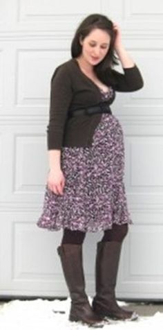 How to Keep Your Style during Maternity - http://www.myeffecto.com/r/25ba_pn
