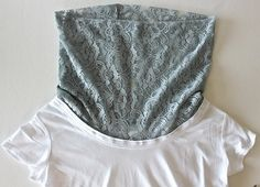 Cowl Neck Tee--think it's really that easy? :) This is something I want to try!